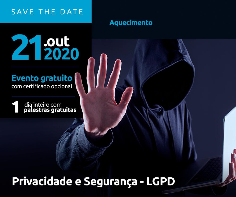 Congresso de TI Privacidade e Segurança - LGPD